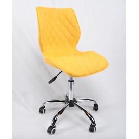 Стул офисный Toni 12034 желтая ткань Thexata Rudens