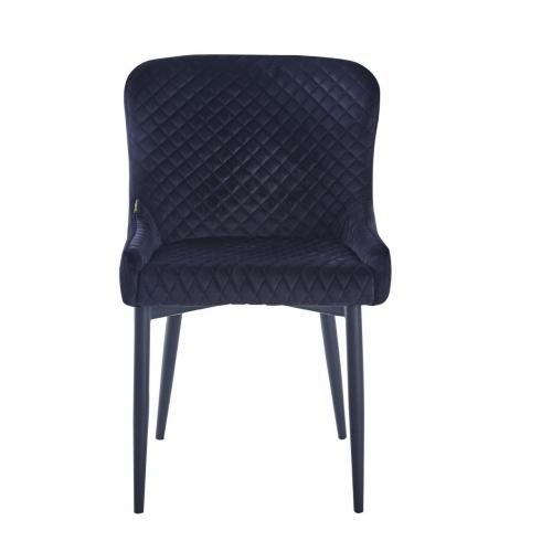 Кресло Chicago черный велюр Kordo