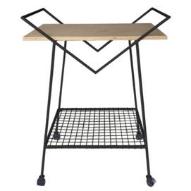 Стол сервировочный Cube SS004901 черный WilleWood 2021