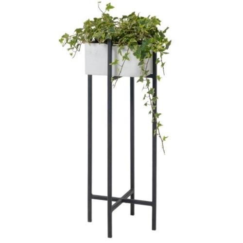 Подставка под цветы Iron 80см SS004445 белый WilleWood 2021