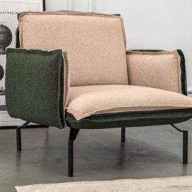 Кресло Loft зеленый Magresbaldai