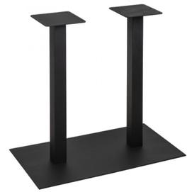 База для барного стола Quadro Double 72см черный Lovko