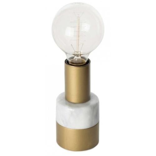 Лампа настольная Candle 1173-03 серый Kayoom