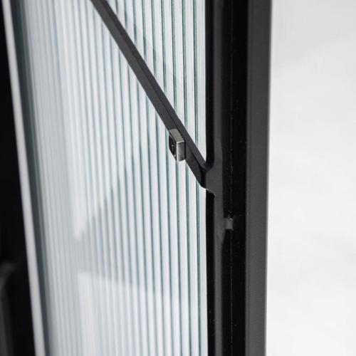 Витрина Trixie AA6752R01 черный Laforma