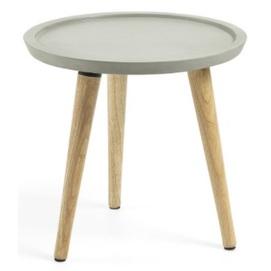 Стол кофейный LIVY AA3219RF03 серый Laforma