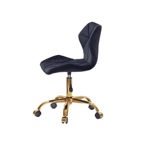 Стул офисный Torino GD-Office 12978 черный велюр Thexata 2021