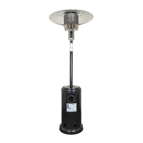 Уличный газовый обогреватель черный GLV200406M BK