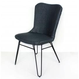 Плетеный стул Бонни CRUZO лум серый
