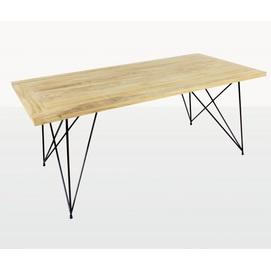 Обеденный стол Саманта 180x90 CRUZO тик натуральный