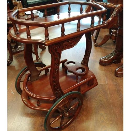 Сервировочный столик тележка НК-829