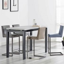 Стол барный 6184 / 48C серый Zijlstra