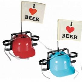 Каска «I ♥ beer» («Я люблю пиво»), с крепежами 93/2066