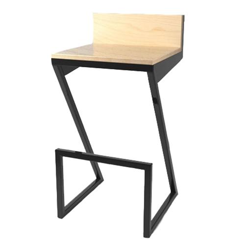 Барный стул ZOE ноги черные К104 Def Design