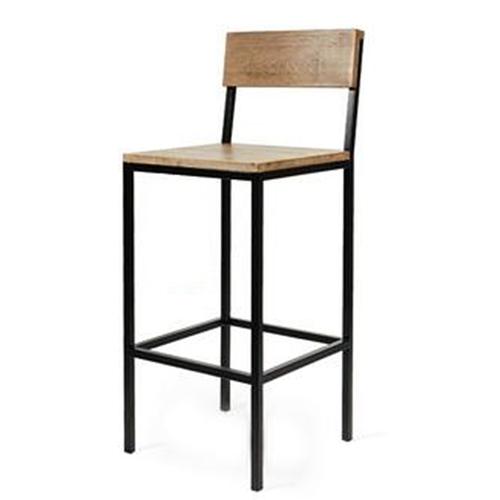 Барный стул Cube 44 чёрный