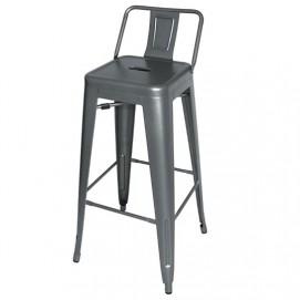 Кресло барное Tolix MC-012PG сталь Primel есть 5шт