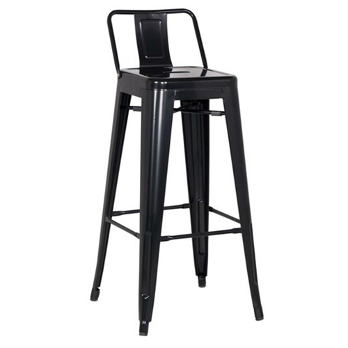 Кресло полубарное Tolix MC-011Р черное Primel