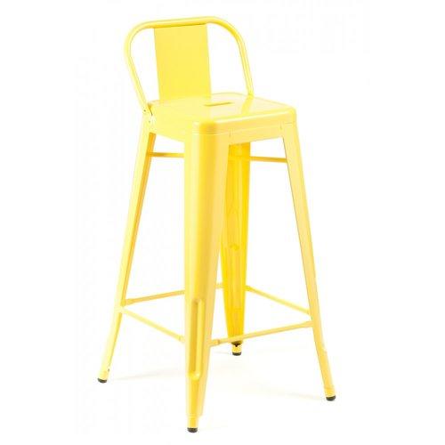 Кресло барное Tolix MC-012P жёлтое Primel