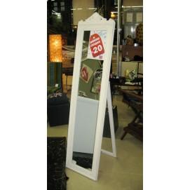 Зеркало напольное Barokko белое 180х45см 51107 Milieu Gmbh