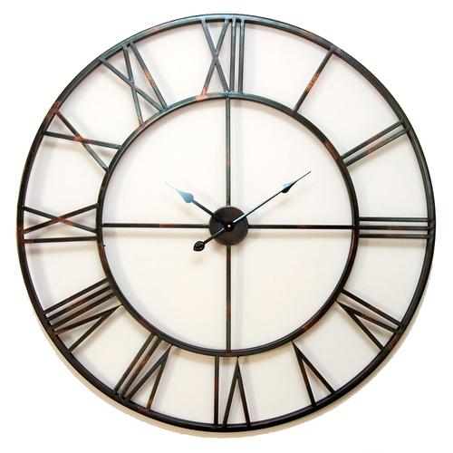 Настенные часы Factory 100cm (D943002) черные Dyyk