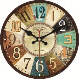 Часы настенные Винтаж Ø 35см Clock