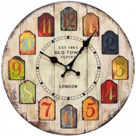 Часы настенные Лондон 2 Ø 35см Clock