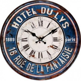 Часы настенные Юнион Джек Ø 30см Clock
