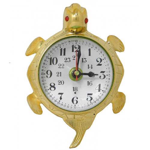 """Часы латунные """"Черепаха""""  (фа-чл-30)"""