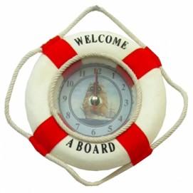 Морская тематика: часы-спасательный круг (мт-15)