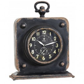 Часы Iron Clock DB003059 Dialma Brown черные