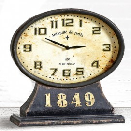 Часы Wood Clock DB003080 Dialma Brown