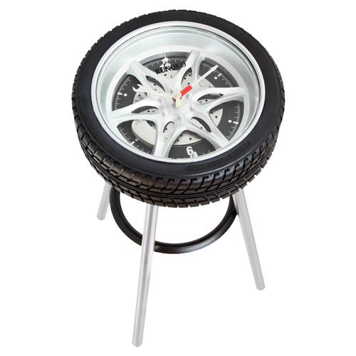 Стул часы Tire-Stool Clock C-TTL Runoko
