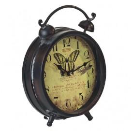 Часы-будильник с бабочкой HLC20418 irongarden