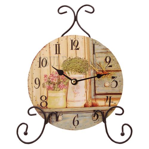 Часы с букетами цветов HLC294610 irongarden