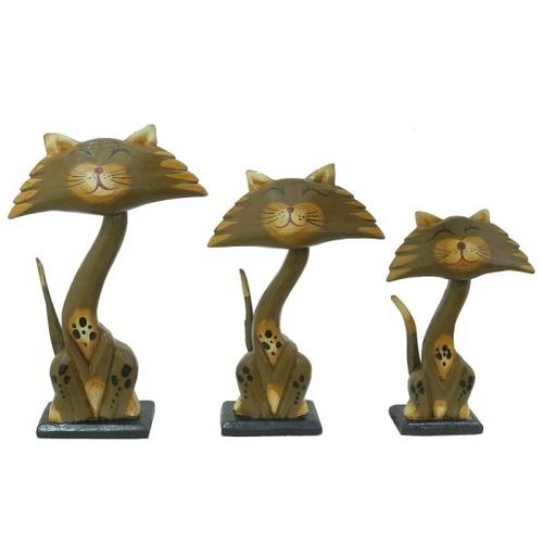 Набор котиков с плоской мордочкой, 4 цвета (кн-53, кн-180, кн-181)
