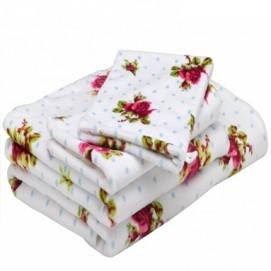 Полотенце Roses and Dots gast.doekje white