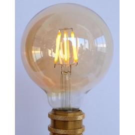 LED лампочка Эдисона  G95 6W 4000K Clean прозрачное стекло