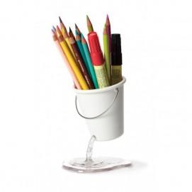 Подставка для канцелярских принадлежностей Desk Bucket Peleg Design Белая