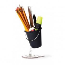 Подставка для канцелярских принадлежностей Desk Bucket Peleg Design Черная
