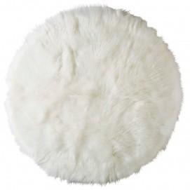 Ковер круглый D.140cm FURIL белый 167804 Maisons 2017