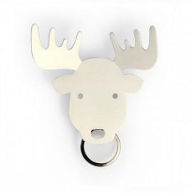 Держатель для ключей и аксессуаров Moose Qualy белый