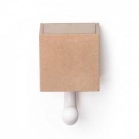 Настенный крючок Kitt-a-boo Qualy коричневый