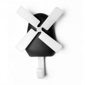 Настенный крючок Windmill Qualy чёрный