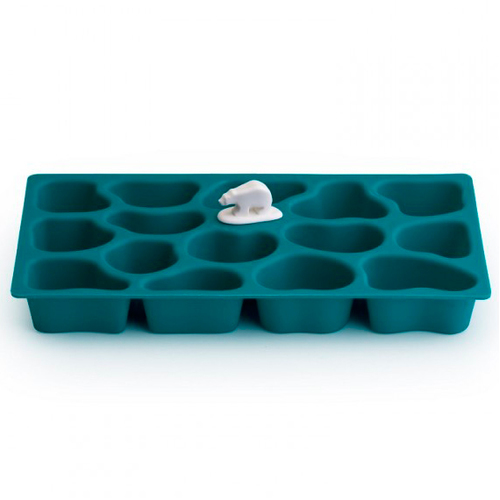 Форма для льда синий Polar Ice Tray Qualy Day Ocean