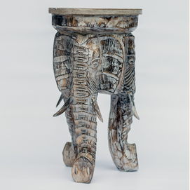 Стул на 3-х слонах 50 30 см бежевый Etnoxata