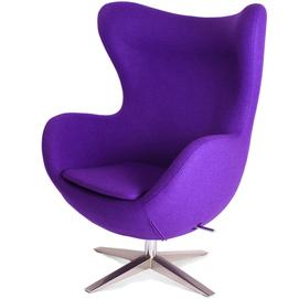 Кресло Egg фиолетовое iCOO