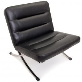 Кресло LEONARDO LEXA чёрное Lareto