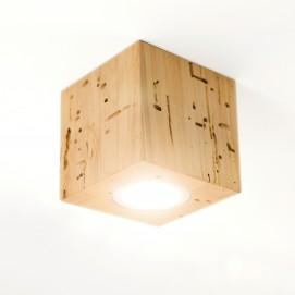 Светильник Rubicon потолочный ольха винтажная 3 Solovero 10х10х10 см