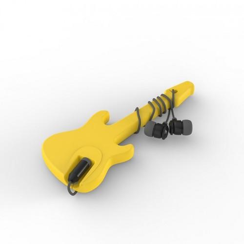 Органайзер для наушников Electrock Rocket Design Желтый