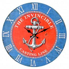Часы настенные The INVINCIBLE Ø 35 см цветные Clok