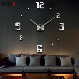 Часы настенные S009 Ø 70-130 см Clock серебро